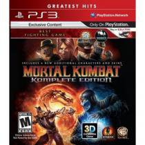 Mortal kombat: komplete edition greatest hits - ps3 - Sony