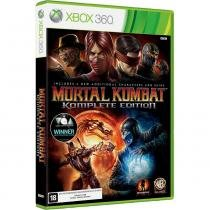 Mortal Kombat Komplete Edition - Xbox 360 - Wb games