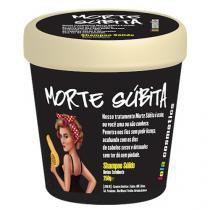 Morte Súbita Shampoo Sólido Lola Cosmetics - Shampoo Reconstrutor - 250g - Lola Cosmetics