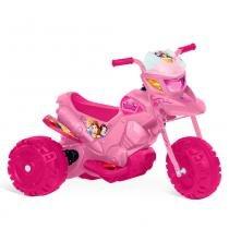 Moto Elétrica 6V - Disney - Princesas - Bandeirante -