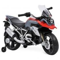 Moto Elétrica BMW GS Vermelha 12V - Bandeirante