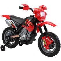 Moto Elétrica Infantil 925800 - Emite Sons Bel Brink 6V