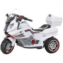 Moto Elétrica Infantil 928400 Emite Sons - com Controle Remoto Bel Brink