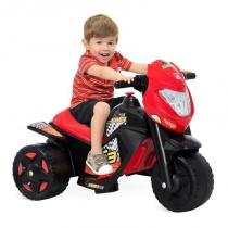Moto Elétrica Infantil Ban Moto 6v Preto 2592 - Bandeirante - Bandeirantes