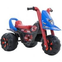 Moto Elétrica Infantil Black Spider 2 Marchas 6V - Biemme