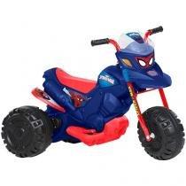 Moto Elétrica Infantil Homem Aranha 2 Marchas - Bandeirante