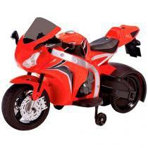 Moto Elétrica Infantil Honda 1000-650 Adventure - 2 Marchas com Sons - Biemme