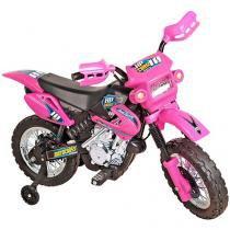 Moto Elétrica Infantil Motocross 1 Marcha  - Xplast