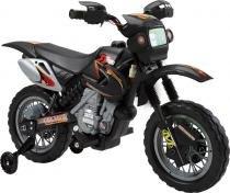 Moto elétrica infantil preto bel brink - 0 -