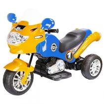 Moto Elétrica Infantil Speed Chopper Azul 248 - Homeplay - Homeplay