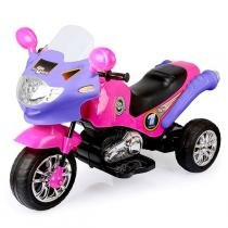 Moto Elétrica Infantil Speed Chopper Pink 247 - Homeplay - Homeplay