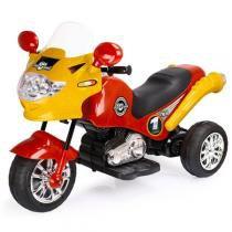 Moto Elétrica Infantil Speed Chopper Vermelha 246 - Homeplay - Homeplay