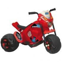 Moto Elétrica Infantil Supercross 2 Marchas - Bandeirante