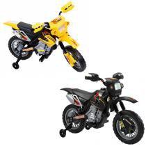 Moto Elétrica Modelo 6V  4Ah 2 km/H - Preto - Bel Fix