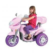 Moto Elétrica Sprint Custon Rosa 6V Biemme -