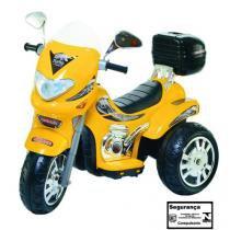 Moto Elétrica Sprint Turbo Amarela 12V Biemme -