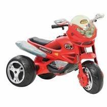 Moto Elétrica Super Moto Gt2 Turbo El 12V Vermelha Bandeirante -