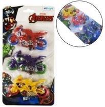 Moto Friccao Com 3 Pecas Na Cartela Vingadores/Avengers - Etitoys