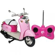 Moto Glamour da Barbie com Controle Remoto 7 Funções 1849 - Candide - Candide