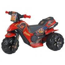Moto Infantil Elétrica Cobra Fire Vermelha/Preta 114 - Biemme - Biemme
