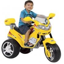 Moto Infantil MT Speed 6V Amarela 1610L - Magic Toys - Magic Toys