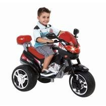 Moto Infantil MT Speed 6V Preta/Vermelha 1410L - Magic Toys - Magic Toys