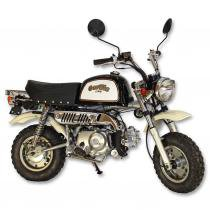 Moto Retroline Gorilla 50 CC DropBoards preto/ branco - DropBoards