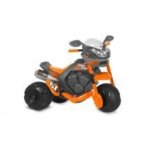 Moto Super Sport Elétrica Cinza 6V Bandeirante -