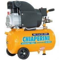 Motocompressor de Ar Chiaperini 24L 2HP - MC 7.6/24 3320RPM