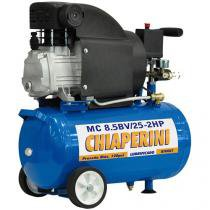 Motocompressor de Ar Chiaperini 24L 2HP - MC 8.5BV/25 3315RPM
