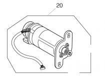 Motor elna 8100 - janome mc 200e -