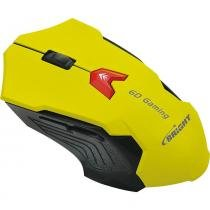 Mouse Bright 0375 Gaming - Amarelo -