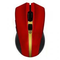 Mouse C3 Tech M-W108rd S/Fio Rc Vermelho - C3tech