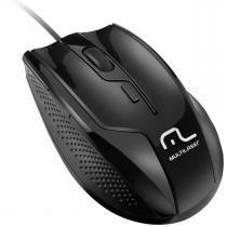 Mouse com 6 Botões USB 1000/1600DPI Preto MO164 - Multilaser - Multilaser