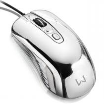 Mouse Gamer Chrome Warrior Led 1600DPI USB MO228 - Multilaser - Multilaser