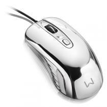 Mouse Gamer Chrome Warrior Usb 1600Dpi MO228 Multilaser - Multilaser