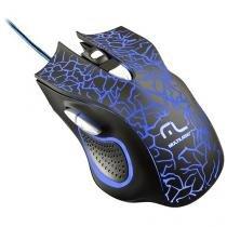 Mouse Gamer Com Fio Óptico 2400dpi - Multilaser