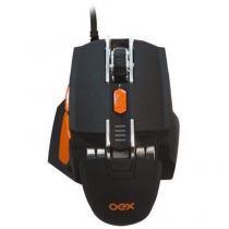 Mouse Gamer Cyber 5200dpi Macro Ajuste de Peso - MS306 - Oex