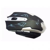 Mouse gamer kp-v10 2400 dpi ajustável 6 botões usb - Knup