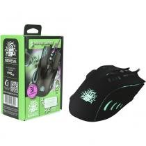 Mouse Gamer Palm Grip Nemesis 6 Botões Usb Led 2400dpi - Nemesis