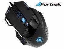 Mouse Gamer USB Black Hawk 2400 DPI Preto FORTREK -