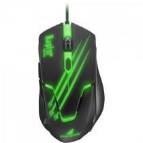 Mouse gamer usb raptor om-801 preto/verde fortrek -
