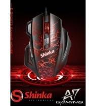 Mouse Gamer Usb Shinka A7 3200dpi Multicolor - shinka