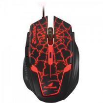 Mouse Gamer USB Spider 2 OM-705 PRETO/VERMELHO Fortrek -