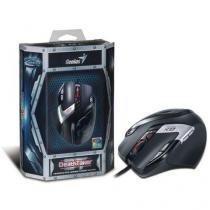Mouse gx gaming genius 31010129101 deathtaker laser 9-botoes mmo/rts 100 - 5700 dpi usb -