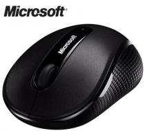 Mouse Microsoft 4000 Wireless Sem Fio Usb Bluetrack - Preto -