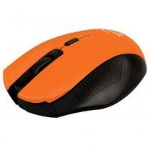 Mouse Newlink Wireless Citrus Laranja 1000dpi Ergonômico - Newlink