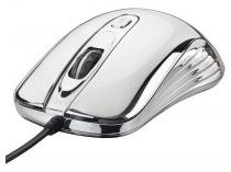 Mouse Óptico 1600dpi USB - Warrior Gamer Chrome M0228