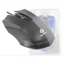 Mouse Optico 3D SumeXR Fx-79 1200Dpi Usb Scroll 1.4M Cabo Varias Cores -