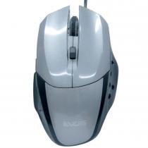 Mouse Óptico Gamer Precision USB 1600DPI Cinza MG-06 - Evus - Evus